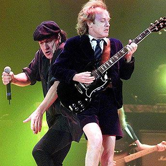 Angus Young og Brian Johnson