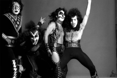 kiss-black-and-white-1974
