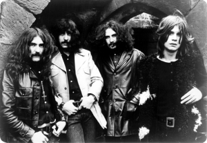 Black Sabbath black and white
