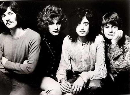 led_zeppelin early bw pic