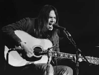 Neil Young acoustic