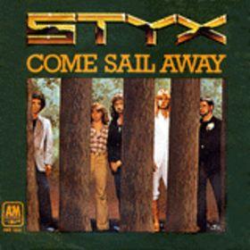 styx come sail away