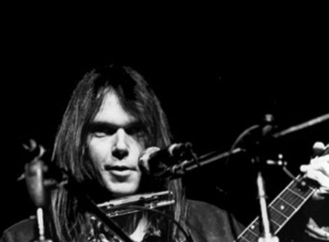 neil-young bw photo