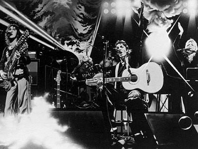 Paul McCartney Wings cartoon