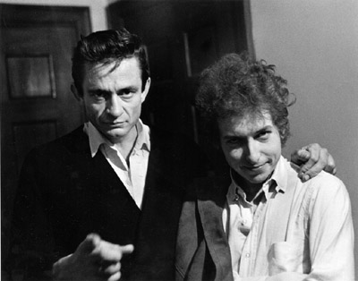 bob dylan and Johnny cash pic 2
