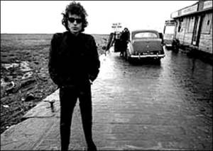 bob dylan at gas station