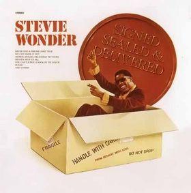 stevie wonder signed sealed delivered