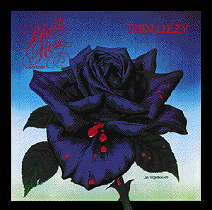 thin lizzy black rose