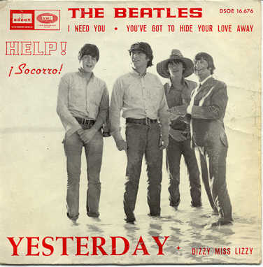 Beatles you got to hide your love away