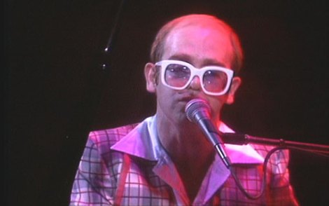 elton john at  edinburgh 1976