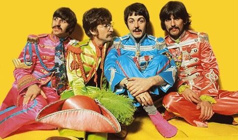 Beatles sgt Pepper band pic