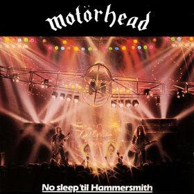 motorhead no sleep til hammersmith