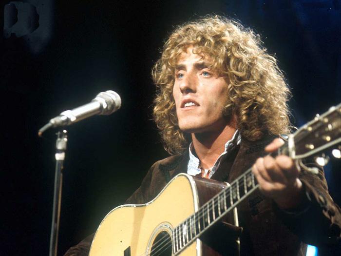 Il frontman degli Who, oggi 70enne