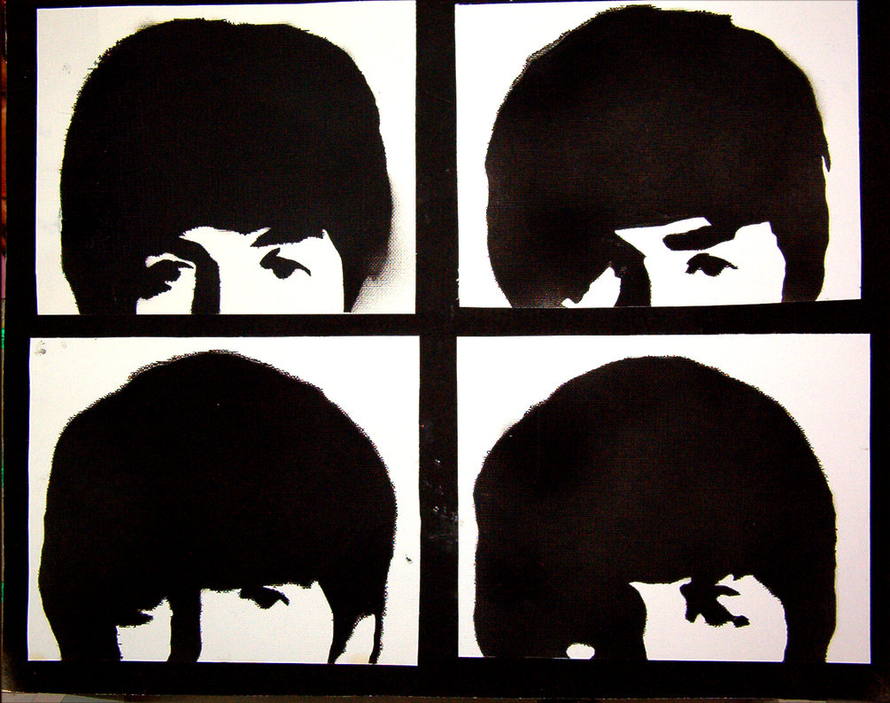 beatles stencil by heinpold - photo #1