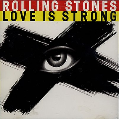 rolling stones love is strong big